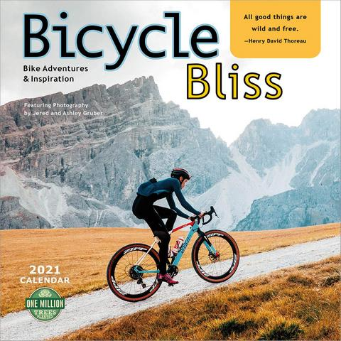 Bicycle Bliss 2021 Calendar