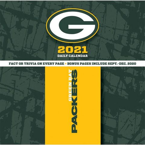 Green Bay Packers 2021 Desk Calendar