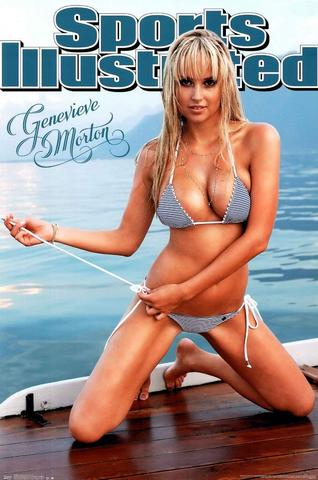Genevieve Morton Sports Illustrated Swimsuit Issue Model Poster